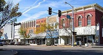 LaSalle, Illinois - Downtown LaSalle, Illinois.