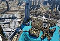 Downtown view from Burj Khalifa at the top 124 floor - panoramio.jpg
