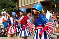 Dragon Con 2013 Parade - Captain America USO Girls (9677732069).jpg