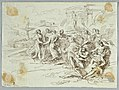 Drawing, Bacchanalian Scene with Circle of Dancing Figures, late 18th–early 19th century (CH 18119055).jpg