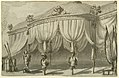 Drawing, Stage Design, A Pavilion with Trophies of War, ca. 1820 (CH 18544089).jpg