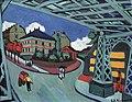 Dresden, Albertinum, Ernst Ludwig Kirchner, Eisenbahnüberführung Löbtauer Straße in Dresden.JPG