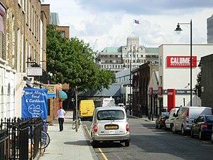 Drummond Street, London - Drummond Street, looking toward Euston station