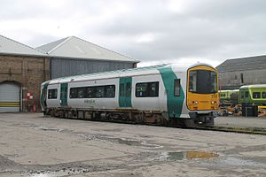 IE 2700 and 2750 Classes - 2753 stored at Inchicore Works in April 2016