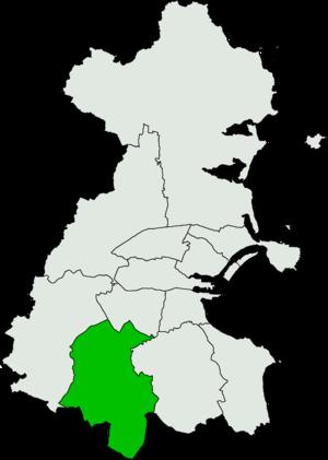 Dublin South-West (Dáil Éireann constituency) - Image: Dublin South West Dáil Éireann constituency