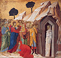 Duccio di Buoninsegna - The Raising of Lazarus - Google Art Project.jpg