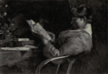 Dutch Painting in the 19th Century - De Zwart - Girl Reading.png