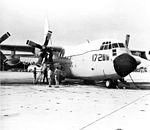 EC-130Q Hercules of VQ-3 at NAS Agana c1972.jpg