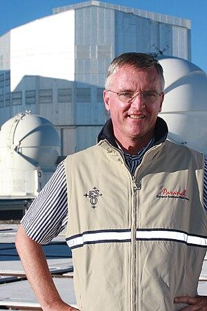 Tim de Zeeuw - Prof. Tim de Zeeuw visiting Paranal Observatory
