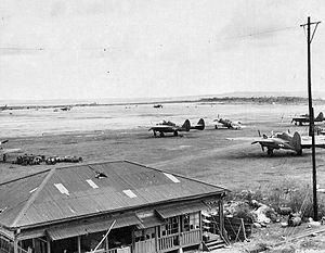 East Field (Saipan) - Image: East Field Saipan 1945