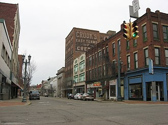 East Liverpool, Ohio - East Fifth Street Historic District