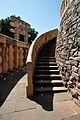 East Stairway - South Side - Stupa 1 - Sanchi Hill 2013-02-21 4457.JPG