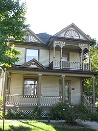 East facade of the H.T. Henryson House and Bartlett Museum.JPG