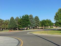 East on E 980 N (SR-296), American Fork, Utah, Jun 16.jpg