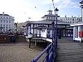Eastbourne Pier entrance - geograph.org.uk - 1404803.jpg