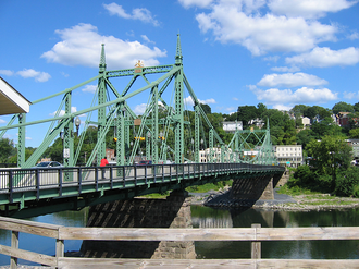 Delaware River Joint Toll Bridge Commission - The Northampton Street Bridge, operated by the commission, connects Easton, Pennsylvania and Phillipsburg, New Jersey.
