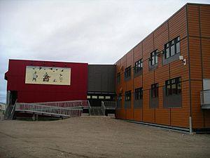Kativik School Board - Ajagudak School in Tasiujaq