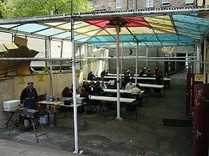 Edinburgh Central Mosque - Kitchen behind the mosque.
