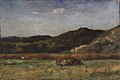 Edward Mitchell Bannister - Untitled (landscape with cows grazing, hills) - 1983.95.74 - Smithsonian American Art Museum.jpg