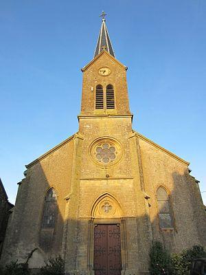 Affléville - Image: Eglise Affleville