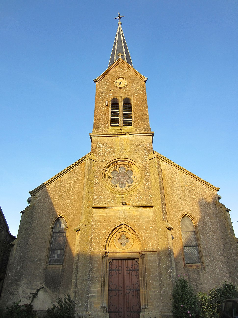 The church in Affléville