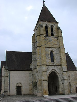 Vierzon - The church of Notre-Dame at Vierzon