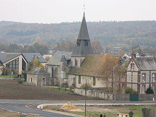 Romilly-sur-Andelle Commune in Normandy, France