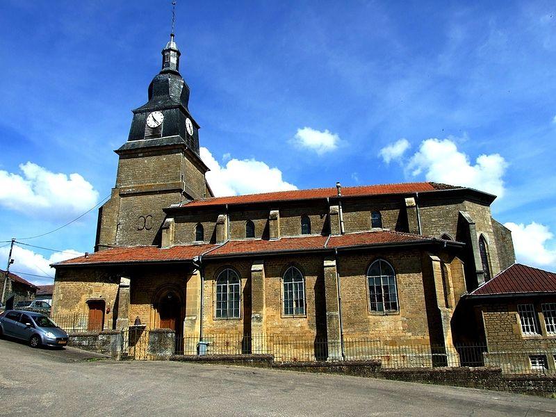 Église Saint-Maurice d'Arrancy-sur-Crusne (Inscrit)