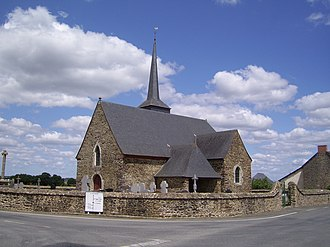 Bléruais - Saint Armel church