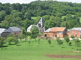 Eglise St Claire Hagnicourt Ardennes France.JPG