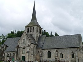 The church in Saint-Hymer
