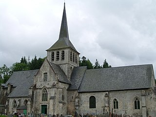 Saint-Hymer Commune in Normandy, France