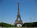 Eiffel Tower from Champ-de-Mars, Paris 29 June 2010.jpg