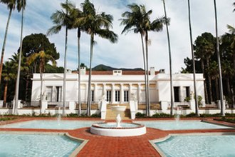 Bertram Goodhue - El Fureidis Estate in Montecito, California.