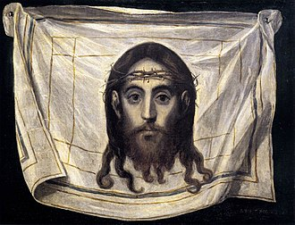 Silence (2016 film) - Rodrigues is fascinated by the face of Christ and visualizes it in the form of this portrait by El Greco.