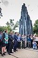 El Lehendakari participa en Barcelona en la concentración con motivo del 30 aniversario del atentado de Hipercor 06.jpg