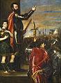 El Marqués del Vasto arenga sus tropa - Museo del Prado.jpg