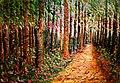 El caminito, Surrealismo, óleo sobre lienzo.jpg
