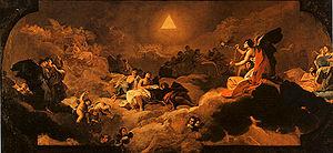Adoration of the Name of God - Image: El nombre de Dios adorado por los angeles