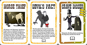 Bang! (card game) - Cards in the El Dorado expansion