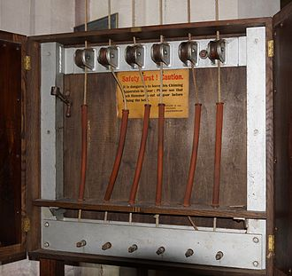 Ellacombe apparatus - Ellacombe apparatus for 6 bells