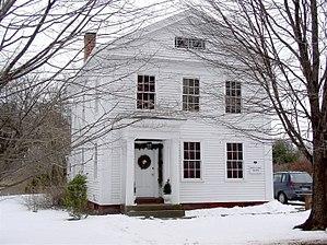 Elmore Houses - Image: Elmore House 87Long Hill Road South Windsor CT