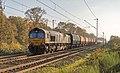 Elten Class66 DE679 Rheincargo met Roemeense Falns (15166786073).jpg