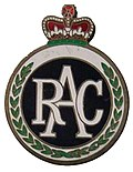 "Emaille plate of ""The Royal Automobile Club"" in the United Kingdom.jpg"