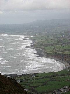 Caernarfon Bay bay in Irish Sea, United Kingdom