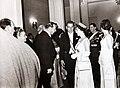 En La Moneda, Ana Coll de Zepeda, Hugo Zepeda Barrios, Eduardo Frei, la Reina Isabel II de In.JPG
