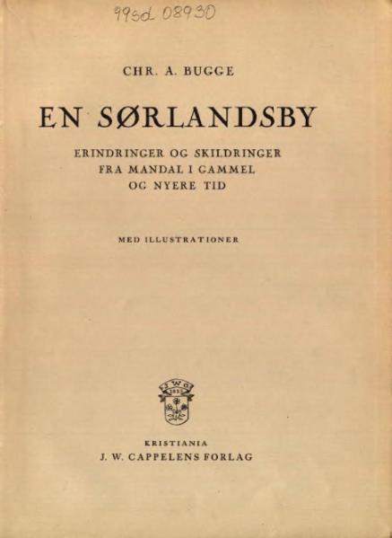 File:En Sørlandsby.djvu
