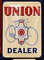 Enamel advertising sign, Union Holland Dealer.JPG
