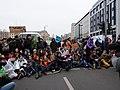 Ende Gelände blockade of the Invalidenstraße next to the Invalidenpark 06.jpg