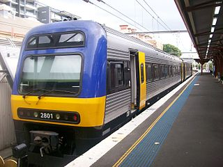New South Wales Endeavour railcar